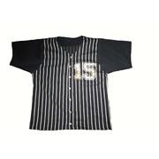 PANSY PANIC/パンジーパニック ストライプベースボールシャツ サイズ90.100.110.120.130.140.150
