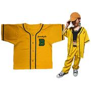 PANSY PANIC/パンジーパニック カラーラインベースボールシャツ サイズ90.100.110.120.130.140.150