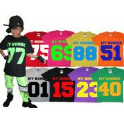 PANSY PANIC/パンジーパニック ORIGINALTシャツ MY NUMBER デザイン サイズ100.110.120.130.140.150.160.S.M.L.XL